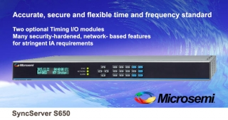 SyncServer S650 time and frequency standard
