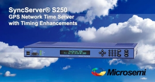 S250 GPS Network time server, Microsemi