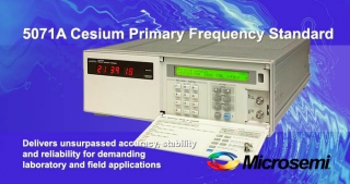 5071A, Cesium primary frequency standard, Microsemi