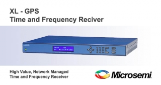 XL GPS Time and frequency reciver, Microsemi