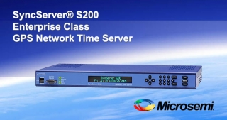 S200 GPS Network time server, Microsemi