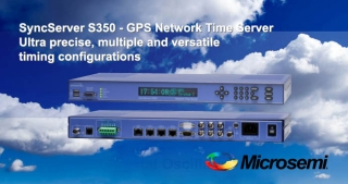 S350 GPS Network Time Server, Microsemi