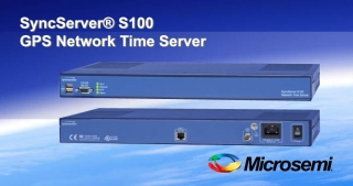 S100 GPS Network time server, Microsemi