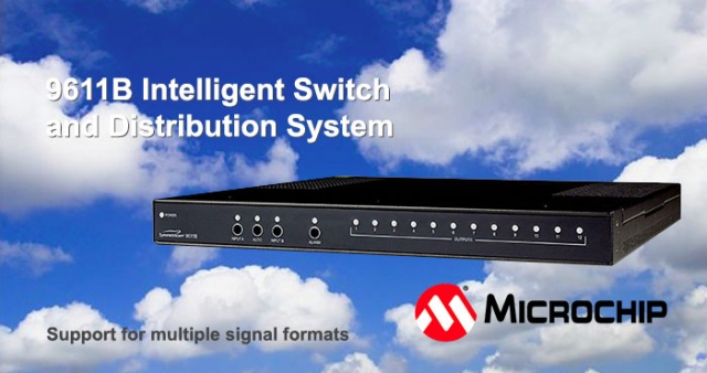 9611B Intelligent switch and distribution system, Microsemi