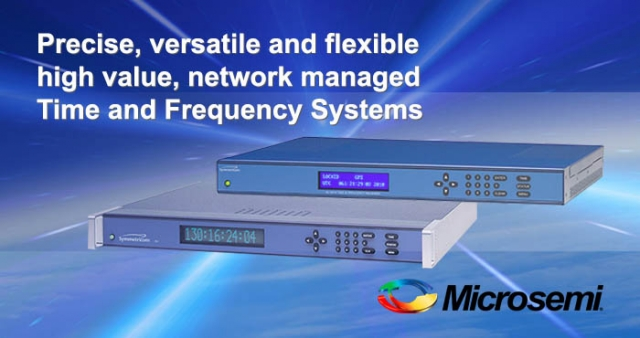 Time and frequency systems, Microsemi