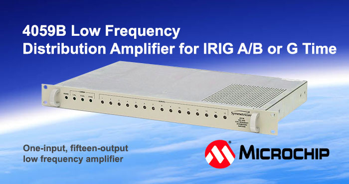 4059B Low frequency distribution amplifier, Microsemi